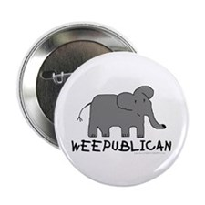 """""""NEW"""" WEEPUBLICAN WITH GREY E Button"""