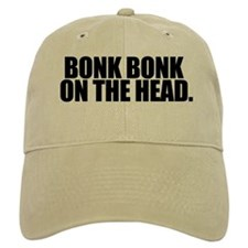 Bonk Bonk on the Head - Khaki Baseball Cap