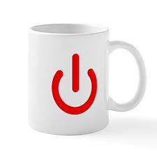 Standby Symbol Red Mug
