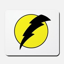 A lightning bolt Mousepad