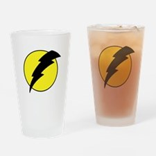A lightning bolt Drinking Glass