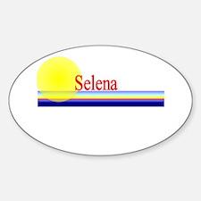 Selena Oval Decal