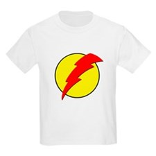 A Red Lightning Bolt T-Shirt