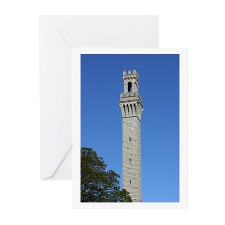 Pilgrim Monument Greeting Cards (Pk of 10)
