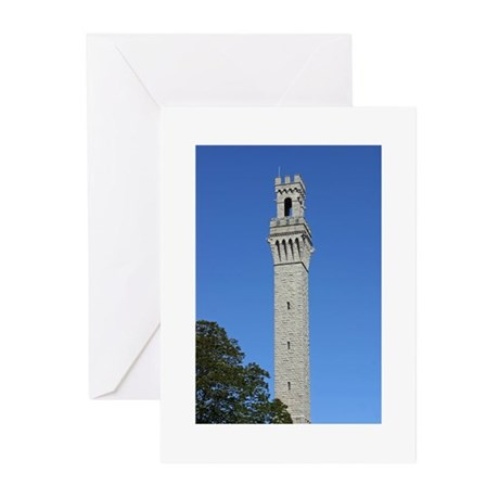 Pilgrim Monument Greeting Cards (Pk of 20)