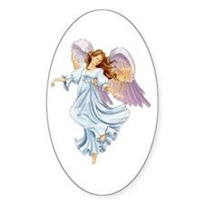Guardian Angel Oval Decal