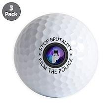 Film The Police Golf Ball