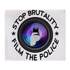 Film The Police Throw Blanket