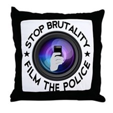 Film The Police Throw Pillow