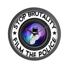 Film The Police Wall Clock