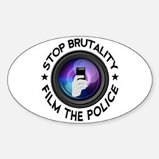 Film The Police Sticker (Oval)