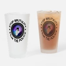 Film The Police Drinking Glass