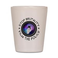 Film The Police Shot Glass