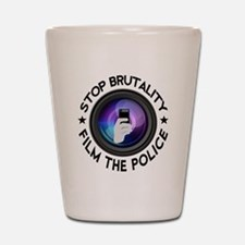 Film The Police Shot Glass