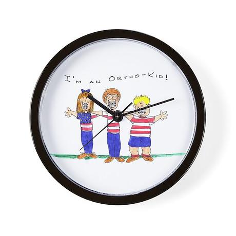OrthoKids Wall Clock