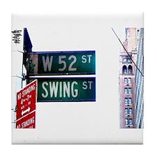Swing Street Tile Coaster