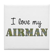 I love my Airman Tile Coaster