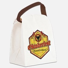 Oktoberfest Gemutlichkeit Canvas Lunch Bag