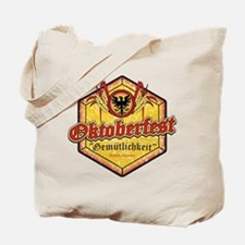 Oktoberfest Gemutlichkeit Tote Bag