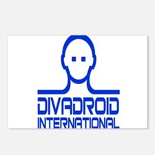 Divadroid Postcards (Package of 8)