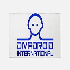 Divadroid Throw Blanket