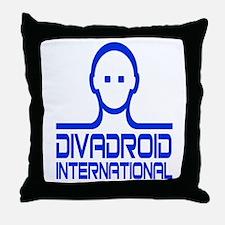 Divadroid Throw Pillow