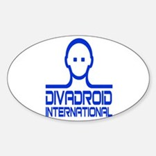Divadroid Sticker (Oval)