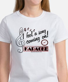 I FEEL A SONG! KARAOKE Women's T-Shirt