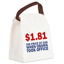 Anti Obama Canvas Lunch Bag