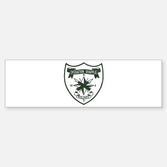 Rhodesia Operation Grapple Sticker (Bumper)