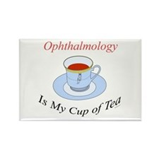 Ophthalmology is my cup of te Rectangle Magnet