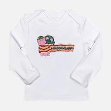 Bacon Clan Mascots Long Sleeve Infant T-Shirt