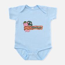 Bacon Clan Mascots Infant Bodysuit