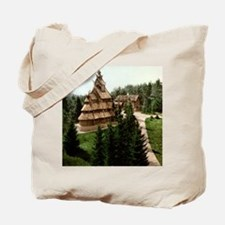 Gol Stave Church Tote Bag