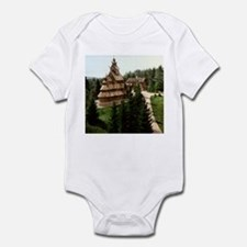 Gol Stave Church Infant Bodysuit