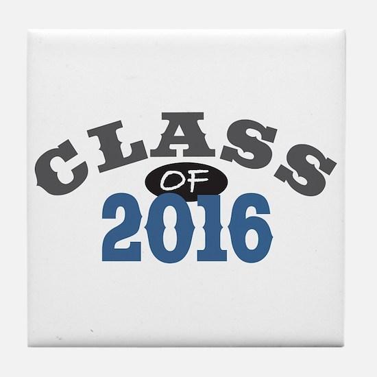 Class of 2016 Tile Coaster