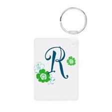 Letter R Keychains