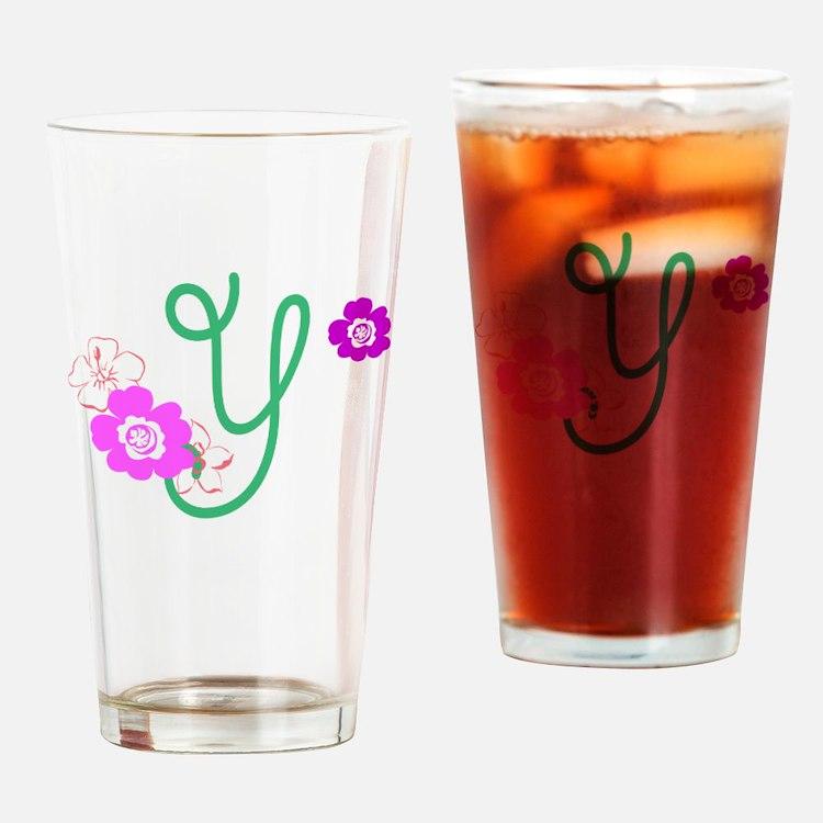 Y Drinking Glass