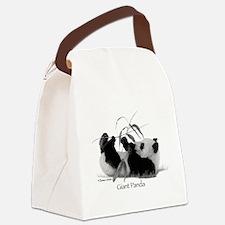 Giant Panda Canvas Lunch Bag