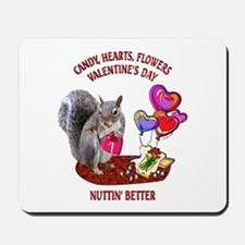 Squirrel Valentine's Day Mousepad