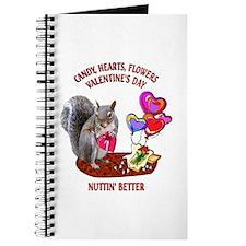 Squirrel Valentine's Day Journal
