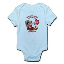 Squirrel Valentine's Day Infant Bodysuit