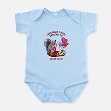 Squirrel Valentine's Day Infant Bodysuit