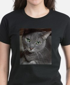 Gray Cat Russian Blue Tee