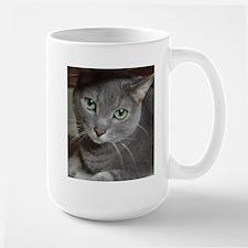 Gray Cat Russian Blue Mug