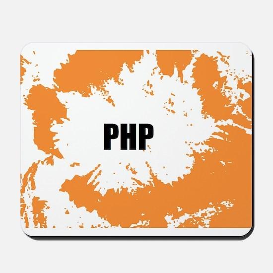 PHP Mousepad Orange