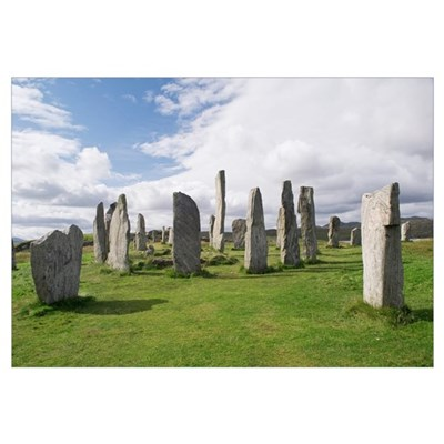 Callanish stone circle Framed Print