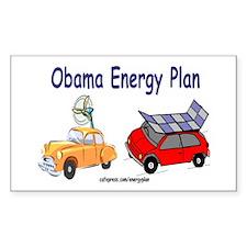 Obama Energy Plan Decal