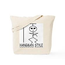 HANGMAN STYLE Tote Bag