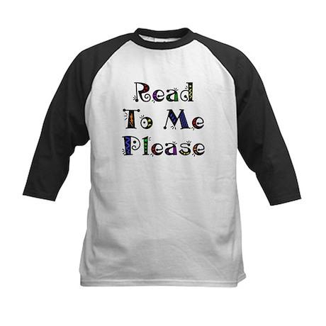Read to Me Fun Kids Baseball Jersey